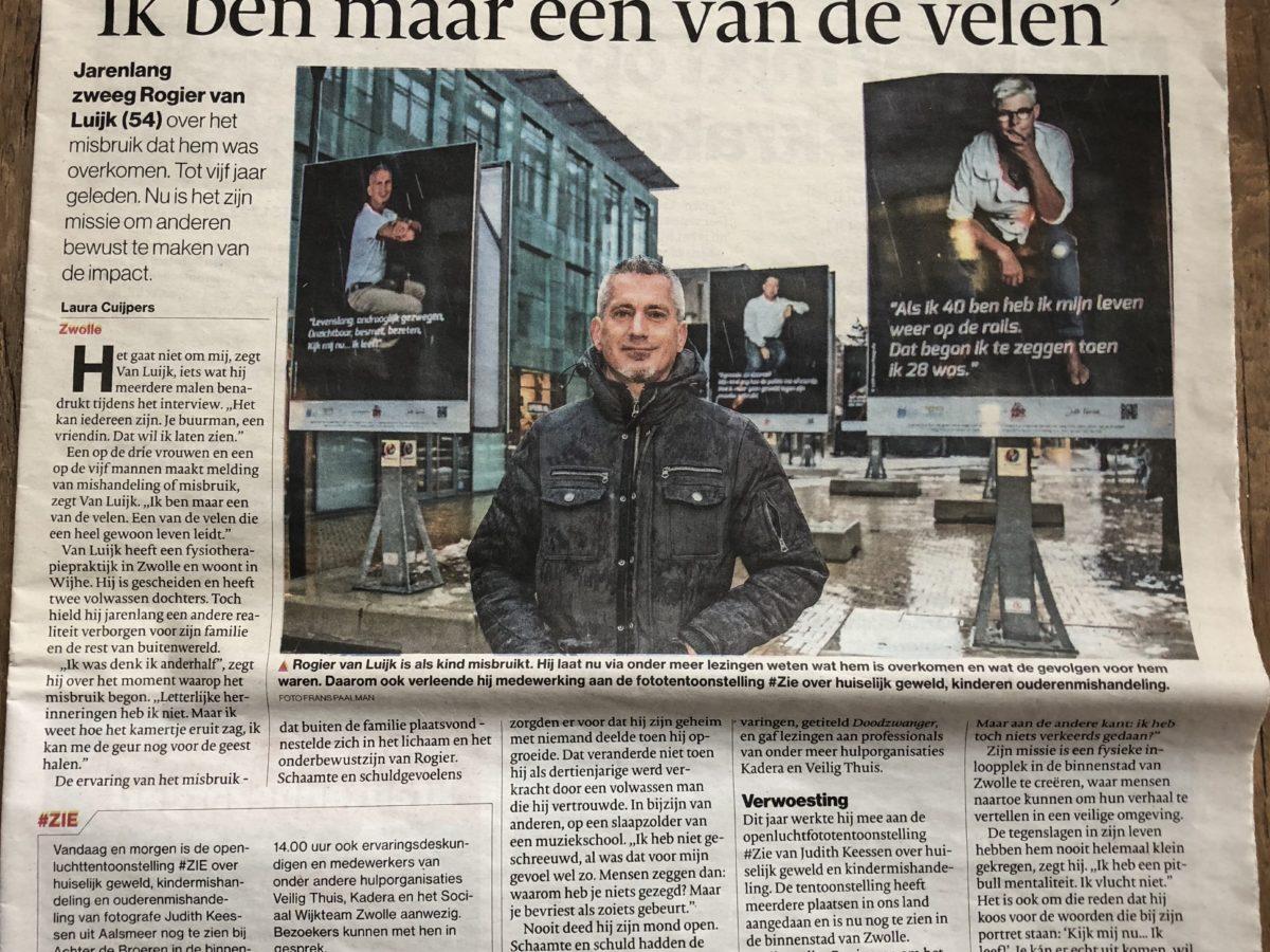 Interview Stentor en opening tentoonstelling #ZIE in Zwolle december 2017
